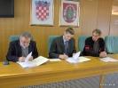 Potpisivanje ugovora o izvođenju radova